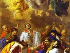 The Miracle of St. Francis Xavier – Nicolas Poussin