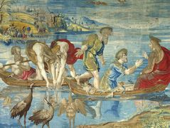 The Miraculous Draught of Fishes (cartoon for the Sistine Chapel)  — Raphael