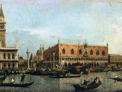 The Molo and the Piazzetta San Marco, Venice – Canaletto