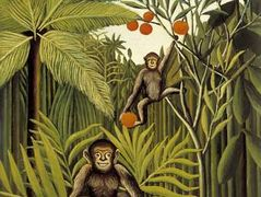 The Monkeys in the Jungle – Henri Rousseau
