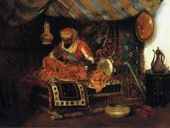 The Moorish Warrior – William Merritt Chase