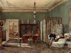 The Morning Room of the Palais Lanckoronski, Vienna – Rudolf von Alt