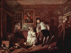 The murder of the count — William Hogarth