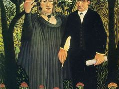 The Muse Inspiring the Poet – Henri Rousseau