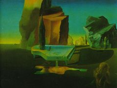 The Mysterious Source of Harmony – Salvador Dali