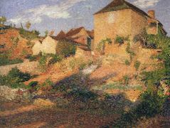 The old house – Henri Martin