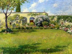 The Orangerie — William Merritt Chase
