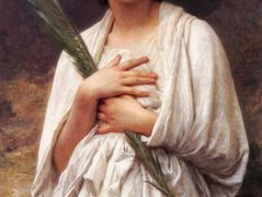 The Palm Leaf – William-Adolphe Bouguereau