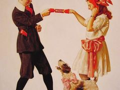 The Party Favour – Norman Rockwell