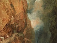 The Passage of the St. Gothard — William Turner