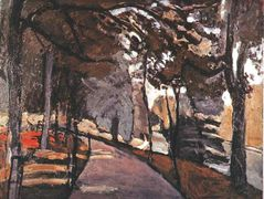 The path in the Bois de Boulogne – Henri Matisse