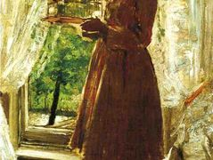 The Pet Canary – William Merritt Chase