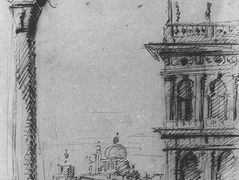The Piazzetta Looking towards S. Maria della Salute – Canaletto