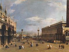 The Piazzetta – Canaletto