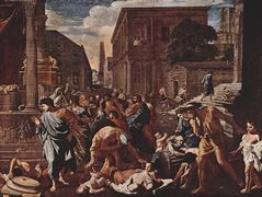 The Plague at Ashod – Nicolas Poussin