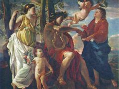 The Poet's Inspiration – Nicolas Poussin