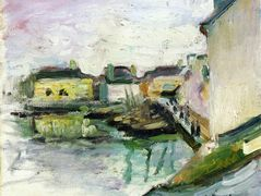 The Port of Palais, Belle Ile – Henri Matisse