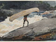 The Portage – Winslow Homer