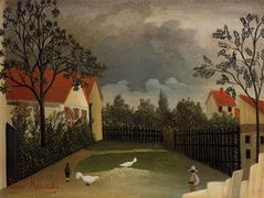 The Poultry Yard – Henri Rousseau