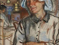 The pride of the housewife — Zinaida Serebriakova