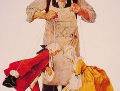 The Puppeteer – Norman Rockwell