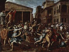 Rape of the Sabine Women – Nicolas Poussin