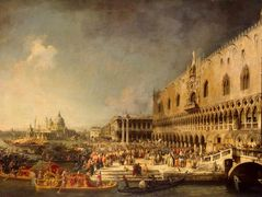 The Reception of the French Ambassador in Venice – Canaletto