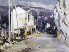 The road in the southern city  – Konstantin Korovin