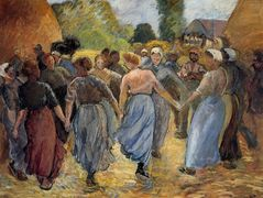 The Roundelay – Camille Pissarro