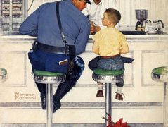 The Runaway – Norman Rockwell