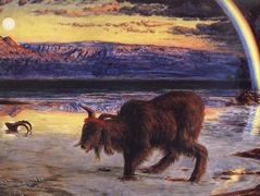 The Scapegoat — William Holman Hunt