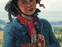 The Schoolgirl's Hymn – William Holman Hunt