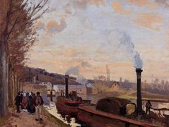 The Seine at Port Marly – Camille Pissarro