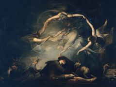 The Shepherd's Dream, from 'Paradise Lost' – Henry Fuseli