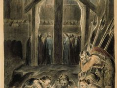 The Soldiers Casting Lots for Christ's Garments – William Blake