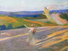 The Song of Orpheus – Henri Martin