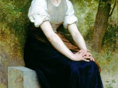 The Song of the Nightingale – William-Adolphe Bouguereau