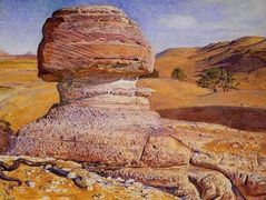 The Sphinx at Gizeh – William Holman Hunt