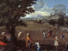 The Summer (Ruth and Boaz) – Nicolas Poussin