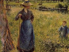 The Tedder – Camille Pissarro