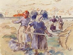 The Tedders – Camille Pissarro