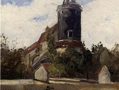 The Telegraph Tower at Montmartre – Camille Pissarro