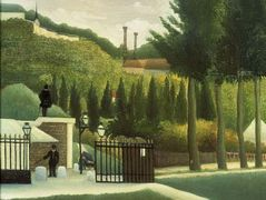 The Toll House  – Henri Rousseau