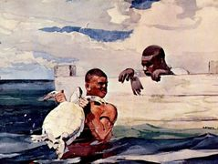 The Turtle Pound – Winslow Homer
