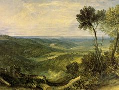 The Vale of Ashburnham – William Turner