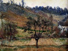 The Valley Of Falaise – Claude Monet
