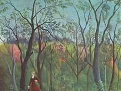 The Walk in the Forest  – Henri Rousseau