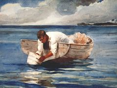 The water fan – Winslow Homer