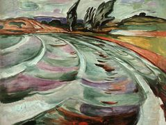 The Wave — Edvard Munch