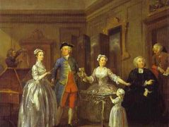 The Western Family  – William Hogarth